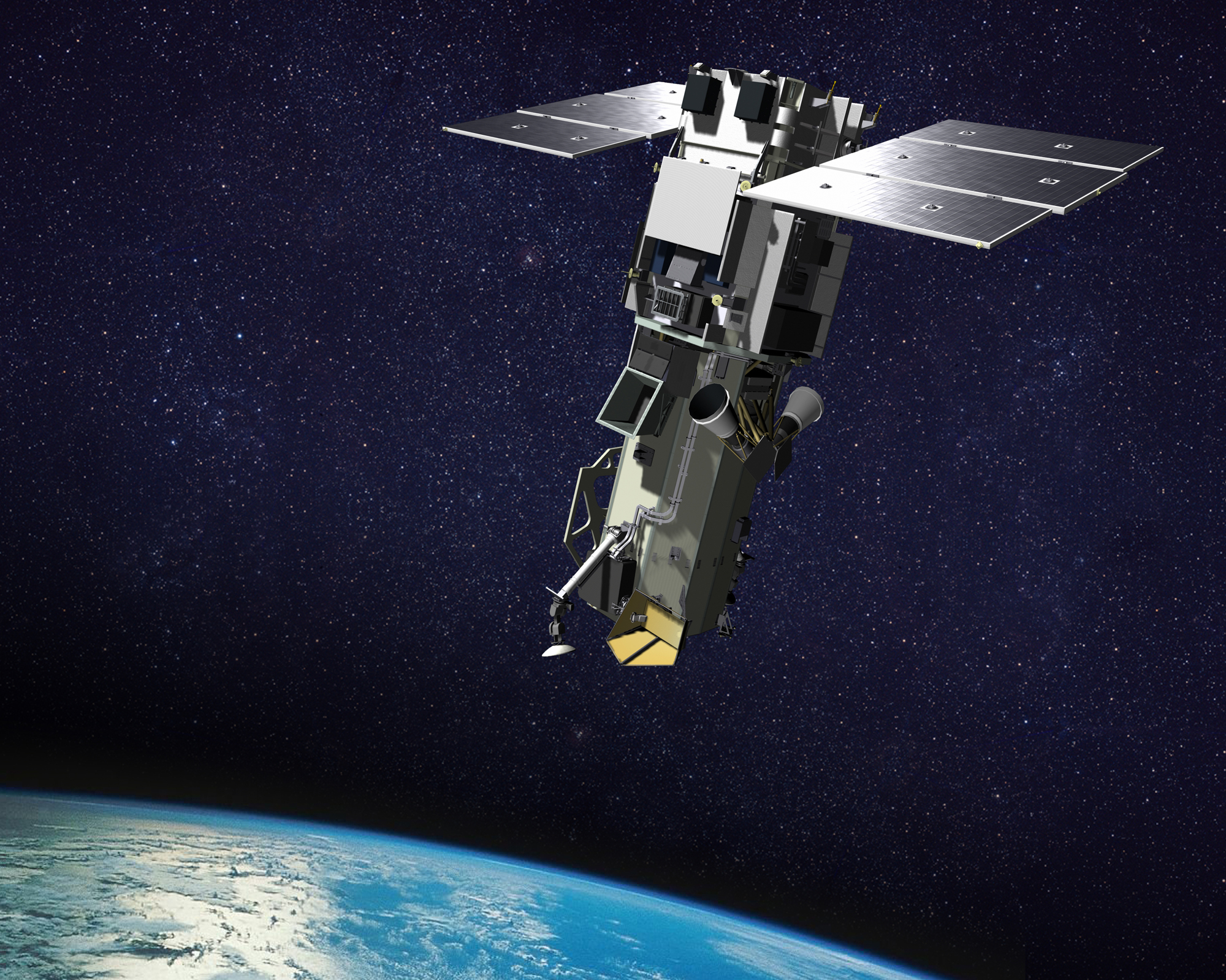 WorldView Geocarto International Centre Ltd - Worldview 2 satellite